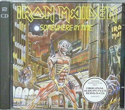 Iron Maiden - Somewhere in Time 2 x CD