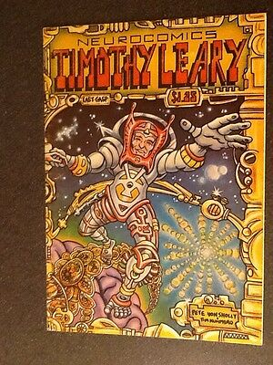 Neurocomics:Timothy Leary (1979, Last Gasp), Underground Comix, Fine+ Condition.