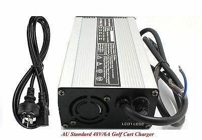 New 48V/6A Golf Cart Battery Charger For Star Ez Go Club Car DS TXT Yamaha AU