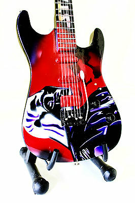 DARTH VADER miniature guitar with stand. star wars