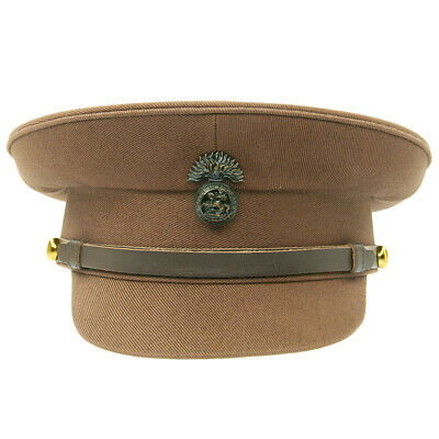 British WWI Officer Service Dress Peaked Cap- Size US 7 (56cm)