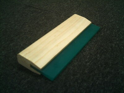 Screen Printing Squeegee with Timber Handel x 25cm