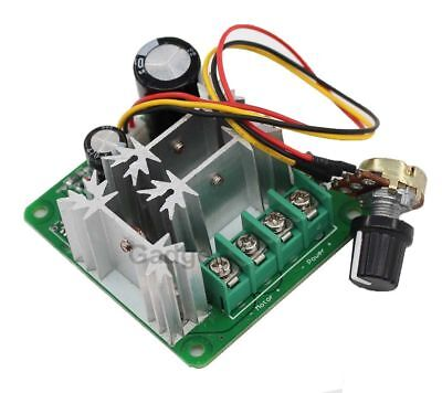 15A 6V-90V Pulse Width Modulator PWM DC Motor Speed Control Switch Controller