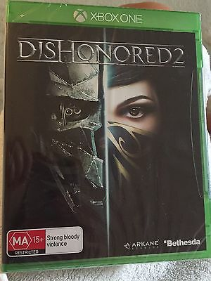 Dishonored 2 (Microsoft Xbox One) BRAND NEW SEALED FREE POSTAGE AUSTRALIAN