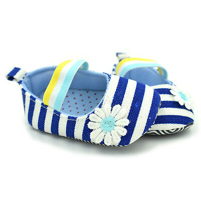 Toddler Baby Girl Flower Crib Shoes Newborn Non-slip Kids Soft Prewalker