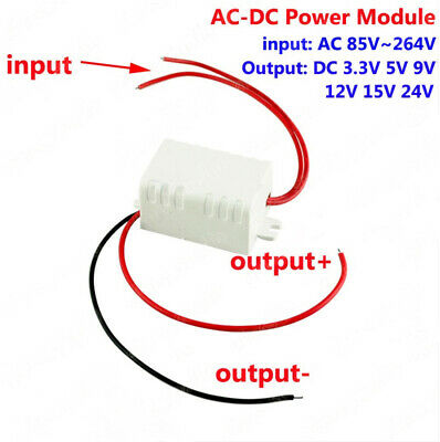 AC-DC 110V 220V 230V to 3.3V 5V 9V 12V 15V 24V Step Down Converter Power Supply