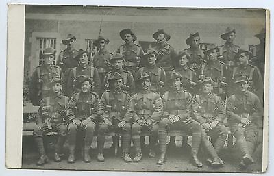 Ww1 Rp Npu Postcard Aif Soldiers Australian Army Medical Corps Unit M98
