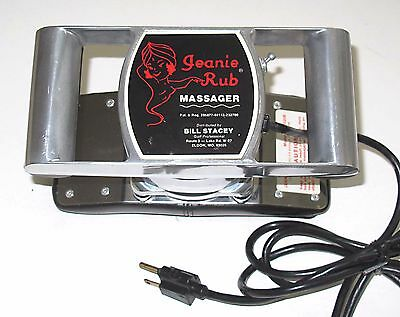 jeanie rub heavy duty massager model m67 - Jeanie Rub Massager