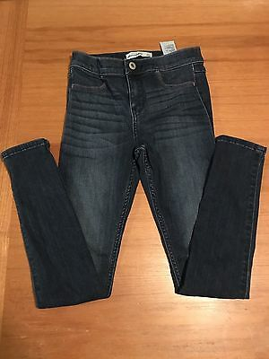 Abercrombie Kids Girls Skinny Denim Jeggings Size 12 EUC