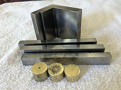 Machinist Parallels Blocks & Brass Anvil Set