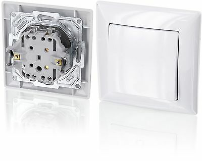 Up on/off switchAll-in-oneFrame with Flush-Mounted Insert + Cover (Series G1P...