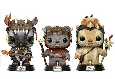 Teebo / Chief Chirpa / Logray 3 Pack POP - POP! Funko Exclusive Star Wars