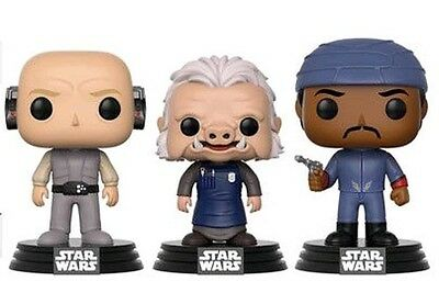 Lobot / Ugnaught / Bespin Guard 3 Pack POP - POP! Funko Exclusive Star Wars