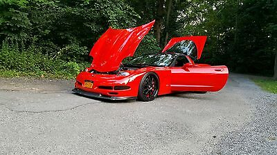 2001 Chevrolet Corvette  Torch Red C5 Modified