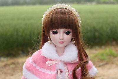 "24"" New 1/3 Handmade PVC BJD MSD Lifelike Doll Joint Dolls Baby Gift New Candy"