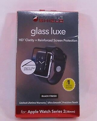 ZAGG InvisibleShield Luxe Screen Protector for Apple Watch Series 2 (38mm) - ...