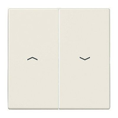 Jung LS995P Double Rocker Switch for Roller Blinds