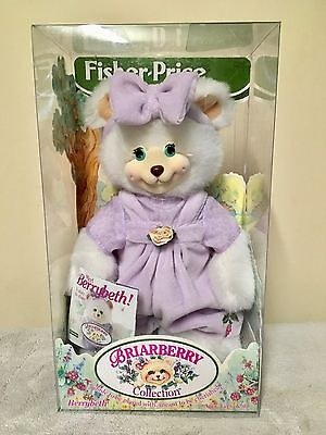 """Fisher Price Briarberry Collection """"Berrybeth"""" 1998."""