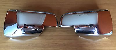 New Full Chrome Wing Door Mirror Covers Caps For Range Rover Sport Discovery
