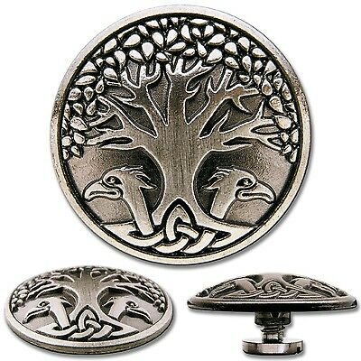 Celtic Tree of Life No. 2 Screwback Concho Decorative Screw Back Rivet