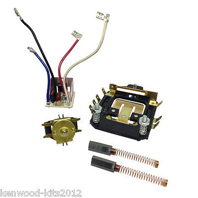 Kitchenaid Speed Control Plate, Phase Board, Governor & Brushes Repair Kit 7