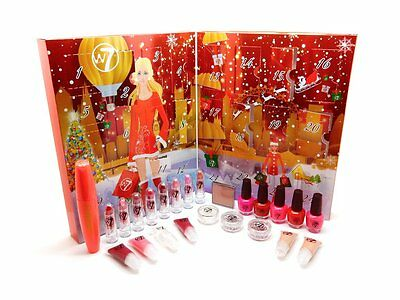 W7 Countdown To Christmas Advent Calendar 24 Cosmetic Treats