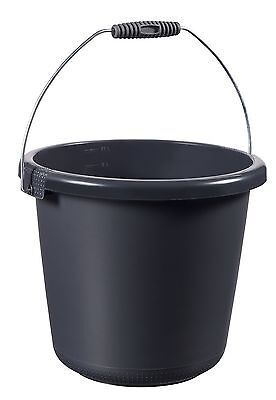 Curver Bucket 10L Anthracite 10 Litre