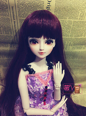 "24"" New 1/3 Handmade PVC BJD MSD Lifelike Doll Joint Dolls Baby Gift New Wendy"