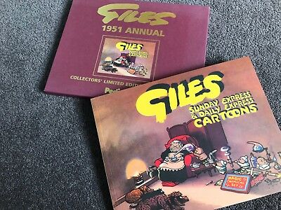 1951 GILES ANNUAL FACSIMILE (6th Series) NEW WITH SLIPCASE AND CERT