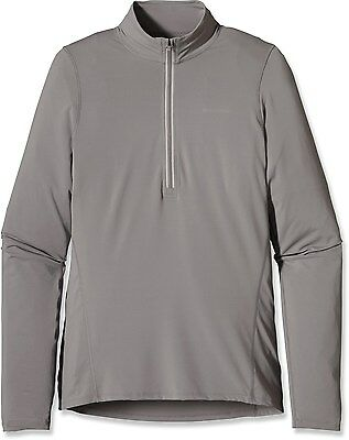 Patagonia All Weather Half-Zip Top - Men - Large - Grey