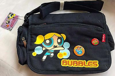 Handbag BubblesThe Powerpuff Girls Dark Blue Jeans with Badges