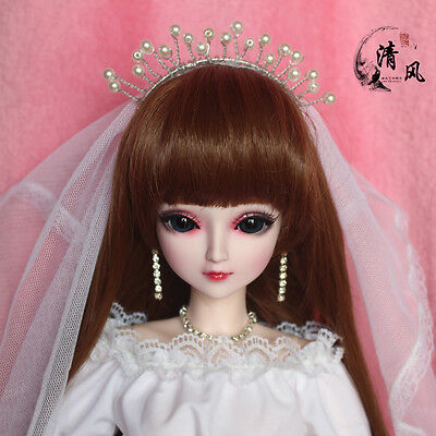 "24"" New 1/3 Handmade PVC BJD MSD Lifelike Doll Joint Dolls Baby Gift New Beenle"
