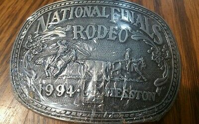 Belt buckle, National Rodeo Finals 1994