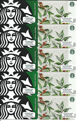 Starbucks Gift Cards (Lot Of 100) Resellers/trader Lot #1