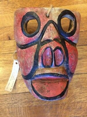Vintage Dance Mask From Guerero Mexico