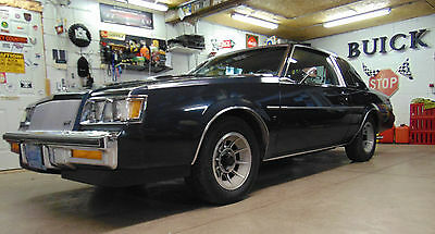 1987 Buick Regal T Package 1987 BUICK REGAL TURBO T TYPE 36K Miles, EXTREMELY RARE CAR