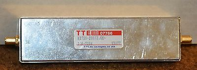 TTE K2720-200/3_6K-10K-720A Band Pass Filter with SMA Female Connectors