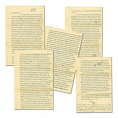 (GONE WITH THE WIND) - Margaret Mitchell - 5 page typed letter SIGNED