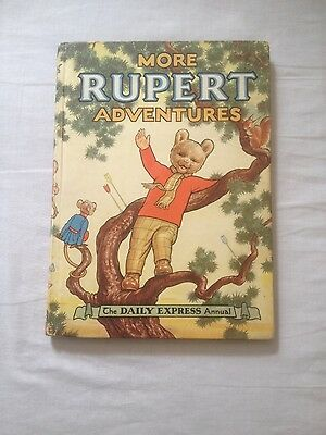 Rupert Annual 1952 - Oringal copy in superb condition!!
