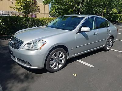 2007 Infiniti M35 X 2007 Infiniti M35X M35 AWD 118k miles dvd Navigation 1 owner vehicle