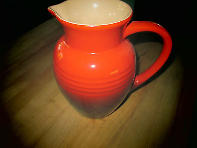 Le Creuset Stoneware Large Jug Pitcher 2 2l Bright