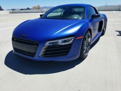 2014 Audi R8 Plus Coupe 2-Door V10 Plus 2014 Audi R8 2dr Cpe Auto quattro V10 plus
