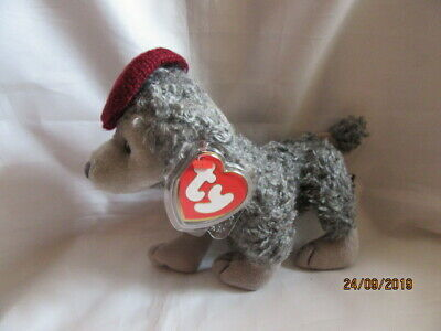 Ty Beanies Bear - Attic Treasures Cheri With Tags