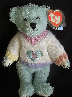 Ty Beanies Bear - Attic Treasures Flynn With Tags