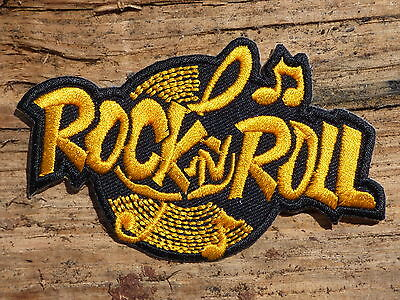 ECUSSON PATCH THERMOCOLLANT aufnaher toppa ROCK N ROLL sun records /9.3CMX6CM