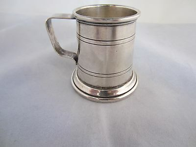Small Sterling Silver Mug by Cartier