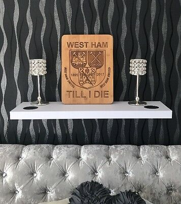 west ham united Till I Die Wooden Plaques
