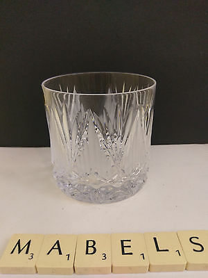 TYRONE CRYSTAL ~SHANNON SUITE~ whisky tumbler glass 3""
