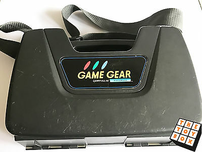 Sega GameGear Vintage Video Game Official Carry Case Console Protector