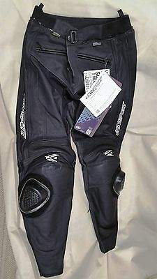 AGV Sport Willow Perforated Leather Pants - New, Size 34